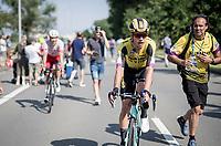 Wout van Aert (BEL/Jumbo - Visma) after finishing 3rd<br /> <br /> Belgian National Road Championships 2019 - Gent<br /> <br /> ©kramon