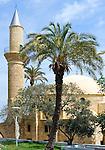 CYPRUS, Larnaca: Hala Sultan Tekkesi mosque<br />