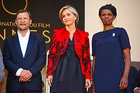 Valerie PECRESSE sur le tapis rouge pour la projection du film RODIN lors du soixante-dixième (70ème) Festival du Film à Cannes, Palais des Festivals et des Congres, Cannes, Sud de la France, lundi 22 mai 2017. Philippe FARJON / VISUAL Press Agency