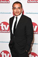 Adil Ray<br /> arriving for the TV Choice Awards 2017 at The Dorchester Hotel, London. <br /> <br /> <br /> ©Ash Knotek  D3303  04/09/2017
