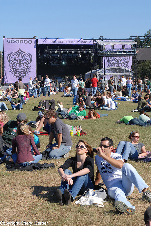 Voodoo Music Experience in City Park