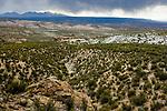 Storm over dry puna, Abra Granada, Andes, northwestern Argentina