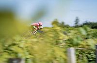 Sergio Andres Higuita (COL/EF Education Nippo)<br /> <br /> Stage 20 (ITT) from Libourne to Saint-Émilion (30.8km)<br /> 108th Tour de France 2021 (2.UWT)<br /> <br /> ©kramon