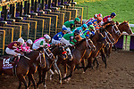 November 6, 2020: Horses race during the TVG Juvenile Presented By Thoroughbred Aftercare Alliance on Breeders' Cup Championship Friday at Keeneland on November 6, 2020: in Lexington, Kentucky. Scott Serio/Eclipse Sportswire/Breeders Cup/CSM