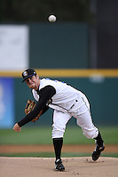June13 2009: Jayson Miller of the Rancho Cucamonga Quakes pitches against the Bakersfield Blaze at The Epicenter in Rancho Cucamonga,CA.  Photo by Larry Goren/Four Seam Images