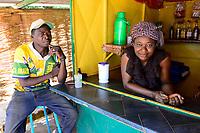 BURKINA FASO , Bobo Dioulasso, Good Shepherd Sisters / Die Schwestern vom Guten Hirten,  ROSE aus Calabar in Nigeria
