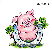 NY, paintings+++++,KL4610/5,#ny#, EVERYDAY ,sticker,stickers, new year's eve ,pig,pigs
