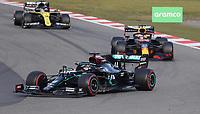 11th October 2020, Nuerburgring, Nuerburg, Germany; FIA Formula 1 Eifel Grand Prix, Race Day;  44 Lewis Hamilton GBR, Mercedes-AMG Petronas Formula One Team