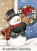 Alfredo, CHRISTMAS SANTA, SNOWMAN, WEIHNACHTSMÄNNER, SCHNEEMÄNNER, PAPÁ NOEL, MUÑECOS DE NIEVE, paintings+++++,BRTOXX12349,#x#