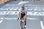World Cahmpion Alejandro Valverde (ESP) Movistar Team crosses the finish line of Stage 10 of the 2019 Tour de France running 217.5km from Saint-Flour to Albi, France. 15th July 2019.<br /> Picture: Colin Flockton | Cyclefile<br /> All photos usage must carry mandatory copyright credit (© Cyclefile | Colin Flockton)