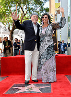 LOS ANGELES, CA. July 31, 2019: Stacy Keach & Malgosia Tomassi Keach  at the Hollywood Walk of Fame Star Ceremony honoring Stacy Keach.<br /> Pictures: Paul Smith/Featureflash