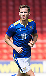 St Johnstone v Fleetwood Town…24.07.21  McDiarmid Park<br />Jamie McCart<br />Picture by Graeme Hart.<br />Copyright Perthshire Picture Agency<br />Tel: 01738 623350  Mobile: 07990 594431