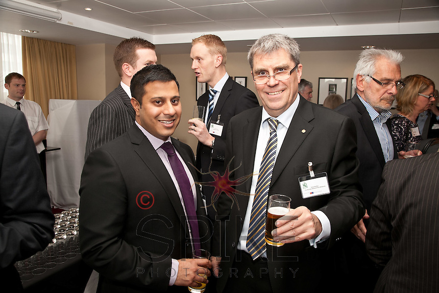 Vik Moothia of Eversheds (left) with Peter Motley of Business Network East Midlands