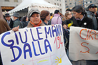- women demonstration in defense of law 194 on the abortion..-  manifestazione donne in difesa della legge 194 sull'aborto