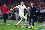 Real Madrid Karim Benzema during La Liga match between Atletico de Madrid and Real Madrid at Wanda Metropolitano in Madrid, Spain. November 18, 2017. (ALTERPHOTOS/Borja B.Hojas)