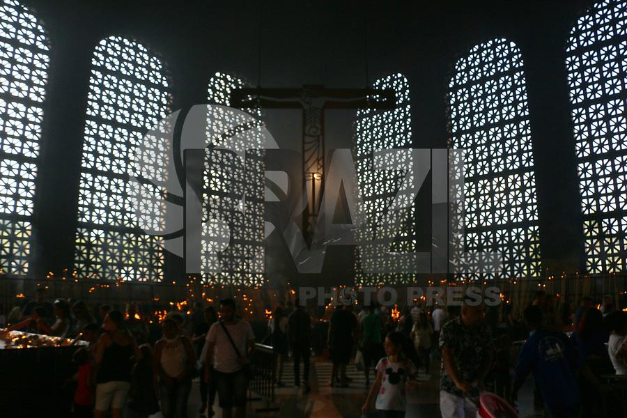 APARECIDA, SP, 05.05.2019: TURISMO-SP: Movimentação no Santuário Nacional de Aparecida, neste domingo, 5. ( Foto: Charles Sholl/Brazil Photo Press)