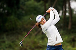 In-Gee Chun of Korea in action during the Hyundai China Ladies Open 2014 on December 12 2014 at Mission Hills Shenzhen, in Shenzhen, China. Photo by Li Man Yuen / Power Sport Images