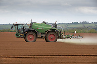 14-5-2021 Pre-Emergence spraying potatoes in Lincolnshire <br /> ©Tim Scrivener Photographer 07850 303986<br />      ....Covering Agriculture In The UK....