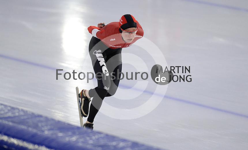 SCHAATSEN: HEERENVEEN: 10-10-2020, KNSB Trainingswedstrijd, Esmee Visser, ©foto Martin de Jong