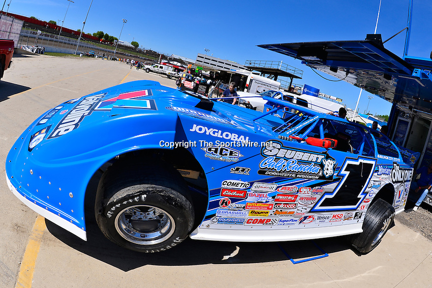 Jun 5, 2014; 3:12:59 PM; Rossburg, OH., USA; The 20th annual Dirt Late Model Dream XX in an expanded format for Eldora's $100,000-to-win race includes two nights of double features, 567 laps of action  Mandatory Credit:(thesportswire.net)