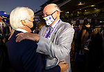 November 7, 2020: Connections for Authentic, winner of the Longines Classic on Breeders' Cup Championship Saturday at Keeneland Race Course in Lexington, Kentucky on November 7, 2020. Bill Denver/Breeders' Cup/Eclipse Sportswire/CSM