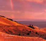 Rainbow, Bolinas Ridge, Mount Tamalpais State Park, Golden Gate National Recreation Area, Marin County, California