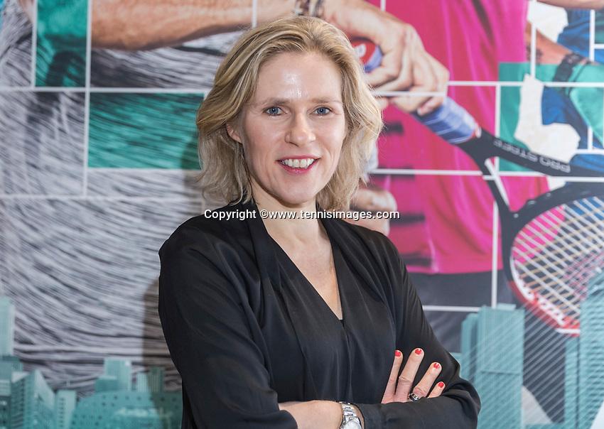Amsterdam, Netherlands, Januari 10, 2017, Pressconference ABNAMROWTT 2018, Jolanda Jansen <br /> Photo: Tennisimages/Henk Koster