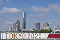 19th July 2021, TOKYO, JAPAN:  A view of Tokyo prior to the Tokyo 2020 Summer Olympic Games. Media from overseas are not allowed to go into public places during the first fourteen days of their stay in Japan. The only way to get a glimpse of the city is from a vehicle transporting the media from hotel to venue