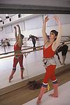 Lynn Seymour Canadian ballerina in rehearsal studio Munich Germany 1979