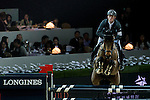 Riders in action at the Longines Grand Prix during the Longines Hong Kong Masters 2015 at the AsiaWorld Expo on 15 February 2015 in Hong Kong, China. Photo by Aitor Alcalde / Power Sport Images