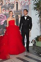 ---- PAS DE TABLOIDS, PAS DE WEB --- Pierre et Beatrice Casiraghi<br /> Bal de la Rose 2016 imaginÈ par Karl Lagerfeld, Soiree Cuba donnee au profit de la Fondation Princesse Grace