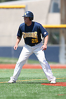 May 15, 2009:  Brian Gibbs of Canisius College leads off second base during a game at Demske Sports Complex in Buffalo, NY.  Photo by:  Mike Janes/Four Seam Images