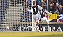 19/03/2005         Copyright Pic : James Stewart.File Name : jspa09_raith_v_falkirk.JOHN MARTIN SCORES HIS SECOND FOR RAITH....Payments to :.James Stewart Photo Agency 19 Carronlea Drive, Falkirk. FK2 8DN      Vat Reg No. 607 6932 25.Office     : +44 (0)1324 570906     .Mobile   : +44 (0)7721 416997.Fax         : +44 (0)1324 570906.E-mail  :  jim@jspa.co.uk.If you require further information then contact Jim Stewart on any of the numbers above.........A