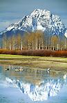Mount Moran, Grand Teton National Park, Wyoming