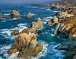 Surf, Arch Rock, Garrapata State Park, Big Sur, Monterey County, California
