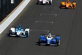 Verizon IndyCar Series<br /> Indianapolis 500 Carb Day<br /> Indianapolis Motor Speedway, Indianapolis, IN USA<br /> Friday 26 May 2017<br /> Takuma Sato, Andretti Autosport Honda/<br /> World Copyright: Phillip Abbott<br /> LAT Images<br /> ref: Digital Image abbott_indy_0517_27333