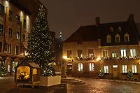 Amérique/Amérique du Nord/Canada/Québec/ Québec: La place Royale de Québec est située dans la Basse-Ville dans l'arrondissement historique du Vieux-Québec;