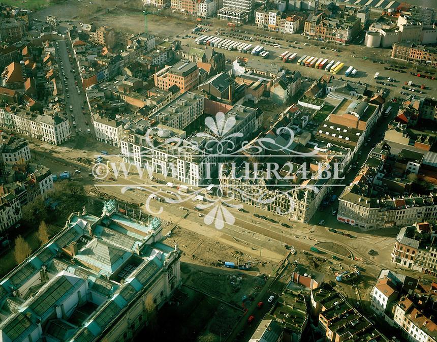 Januari 1999. Hippodroom tegenover het Museum van Schone Kunsten in Antwerpen.