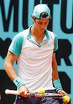 Thanasi Kokkinakis during Madrid Open Tennis 2015 match.May, 4, 2015.(ALTERPHOTOS/Acero)