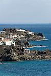 Spain, Canary Islands, La Palma, east coast near Villa de Mazo, coastline near Playa del Hoyo