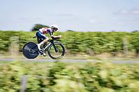 Kenny Elissonde (FRA/Trek - Segafredo)<br /> <br /> Stage 20 (ITT) from Libourne to Saint-Émilion (30.8km)<br /> 108th Tour de France 2021 (2.UWT)<br /> <br /> ©kramon