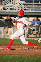 August 28th, 2007:  Domnit Bolivar of the Batavia Muckdogs, Short-Season Class-A affiliate of the St. Louis Cardinals at Dwyer Stadium in Batavia, NY.  Photo by:  Mike Janes/Four Seam Images