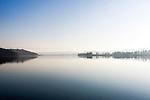 Deutschland, Bayern, Chiemgau, Rupertiwinkel: Herbststimmung am Tachinger See   Germany, Bavaria, Chiemgau, Rupertiwinkel: autumn scenery at Lake Taching