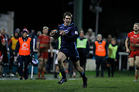 Tom Griffiths of London Scottish during the Greene King IPA Championship match between London Scottish Football Club and Coventry at Richmond Athletic Ground, Richmond, United Kingdom on 8 March 2019. Photo by Carlton Myrie/ PRiME Media Images.