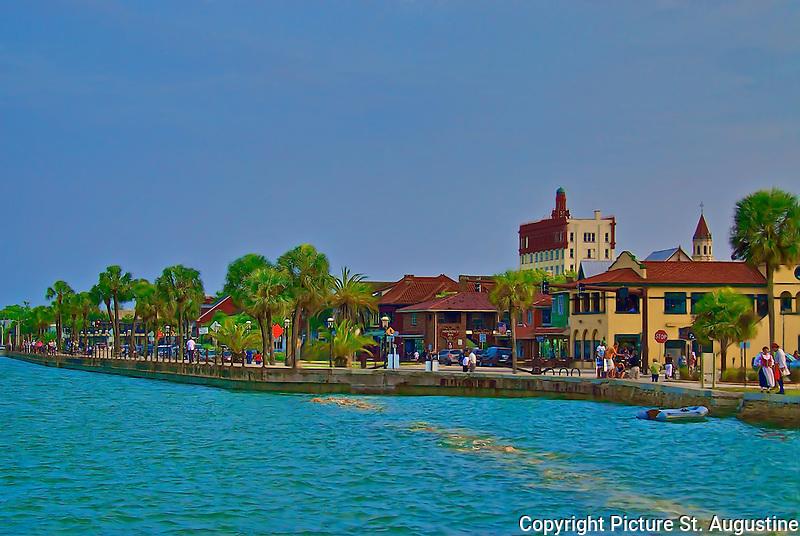 Matanzas Bayfront in historic downtown St. Augustine, Florida