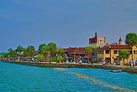 Matanzas Bayfront in historic downtown St. Augustine, Florida