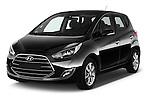 2016 Hyundai ix20 Joy 5 Door Mini MPV Angular Front stock photos of front three quarter view