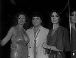 SERENA GRANDI, CRISTIANO MALGIOGLIO E ROSANNA FRATELLO<br /> FESTA CRISTIANO MALGIOGLIO - OPEN GATE  ROMA 1981