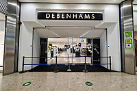 The Debenhams store which has now closed for the last time in Swansea, Wales, UK. Saturday 15 May 2021