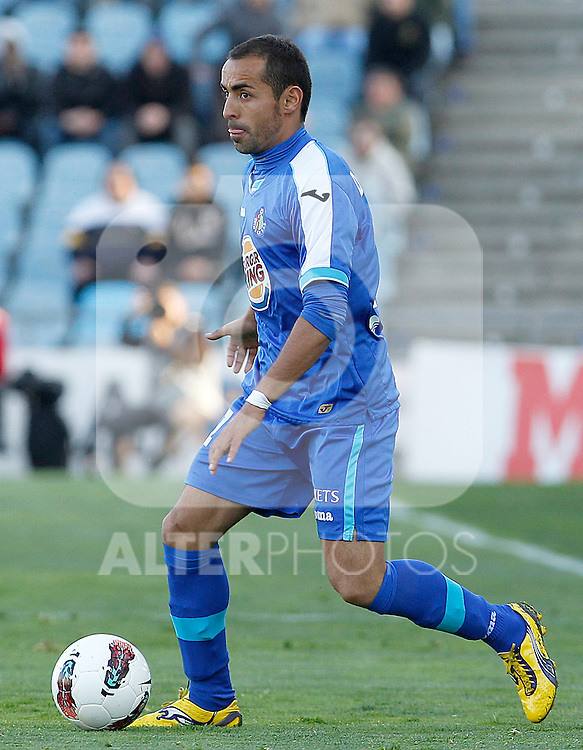 Getafe's Diego Castro during La Liga match.March 17,2012. (ALTERPHOTOS/Acero)